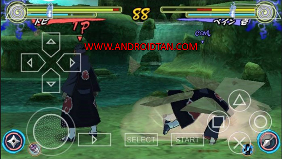 Naruto Shippuden Narutimate Accel 3 ISO/CSO PPSSPP for Android