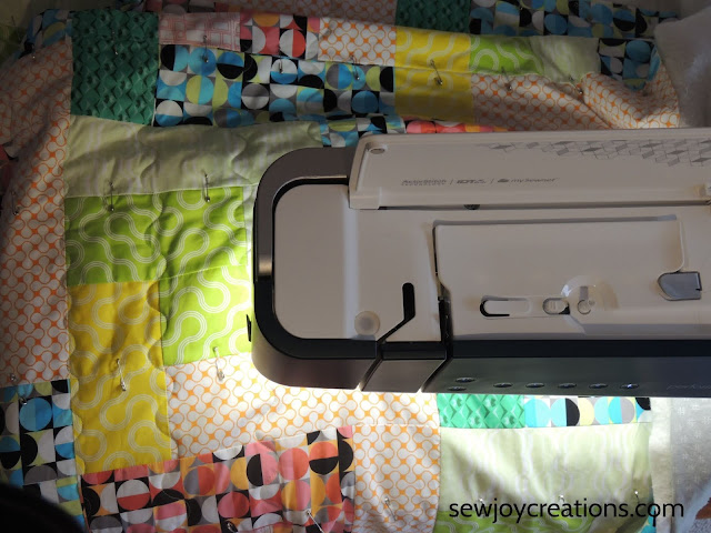 quilting PFAFF performance icon Dropping In quilt
