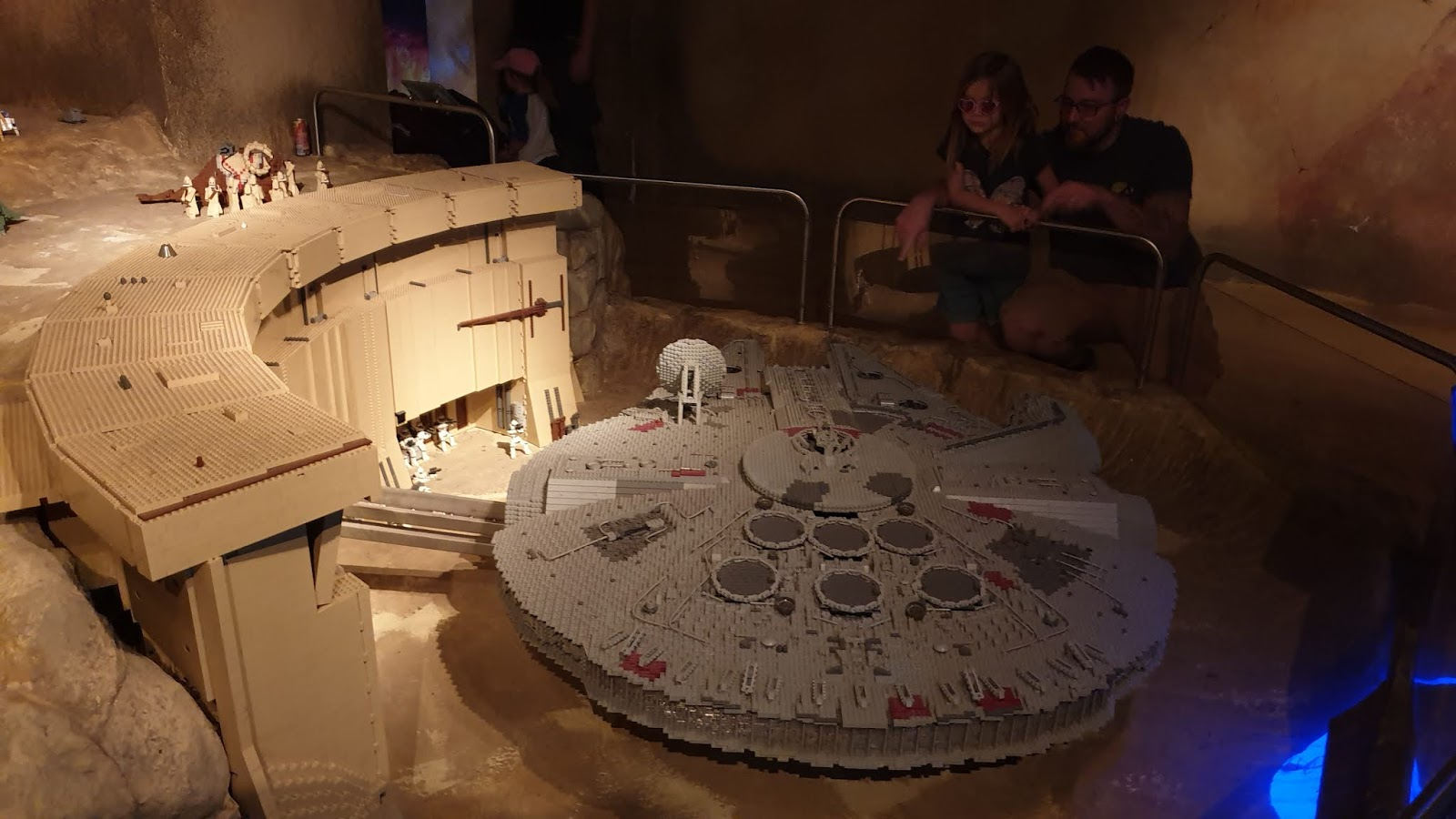 lego millennium falcon from star wars