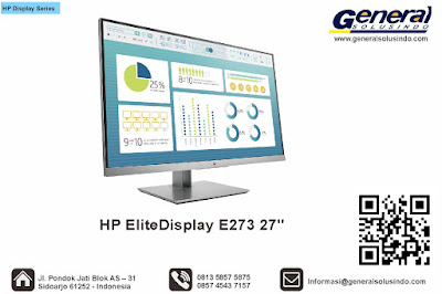 HP EliteDisplay E273 27
