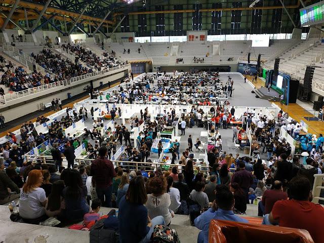 Βραβείο πολυπλοκότητας σε μαθητές του Λυκείου Ερμιόνης στον Πανελλήνιο Διαγωνισμό Εκπαιδευτικής Ρομποτικής