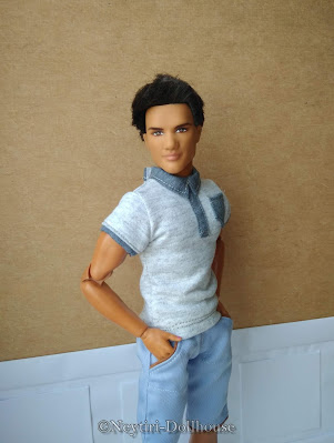 BMR Ken Twilight Jacob doll rebody