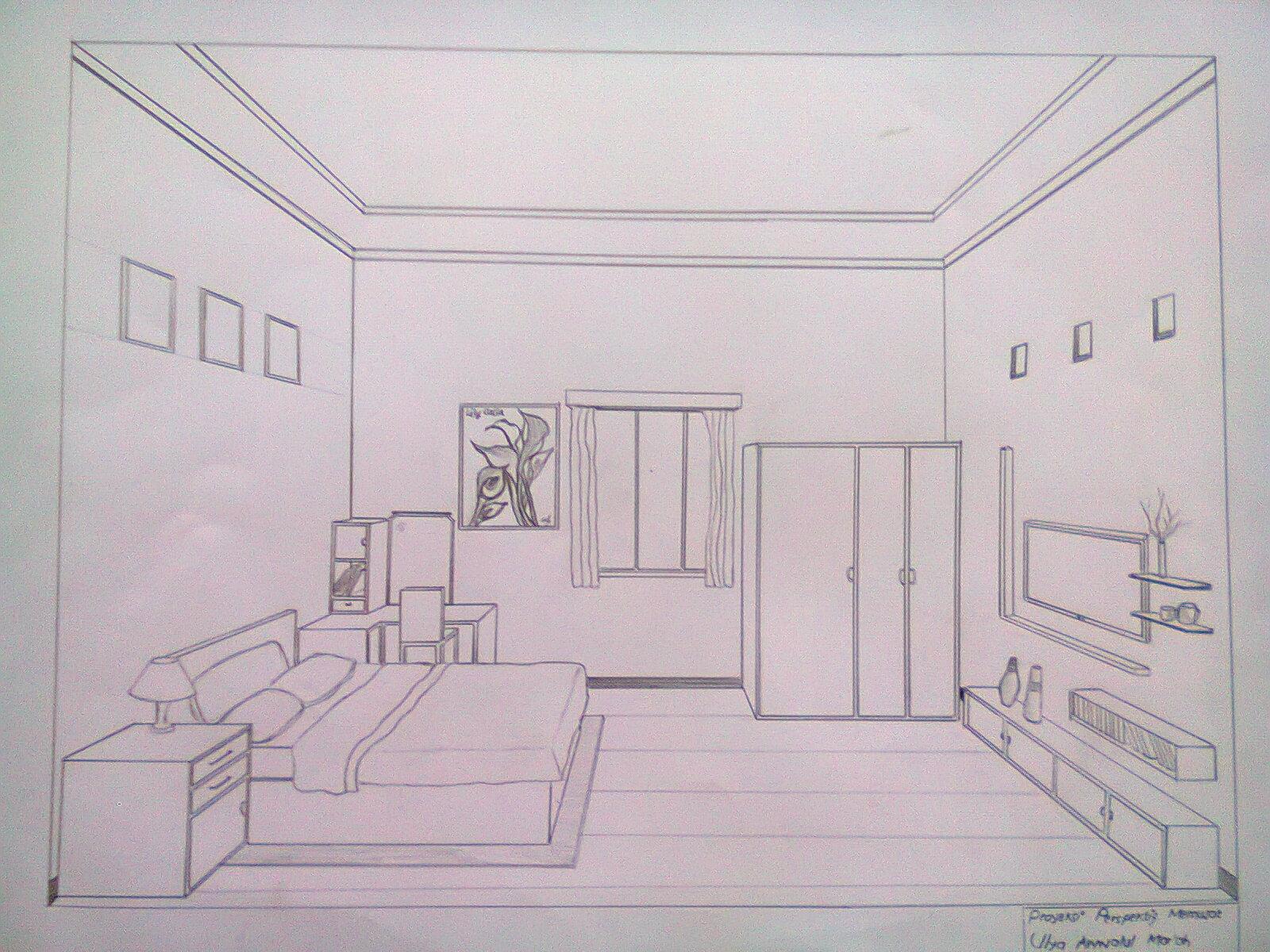 Desain Interior Dapur Satu Titik Lenyap Gambar Desain Rumah Minimalis