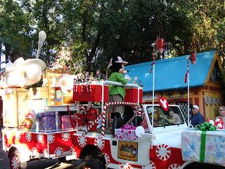 Mickey Mouse Float Jingle Jammin Parade Disney's Animal Kingdom