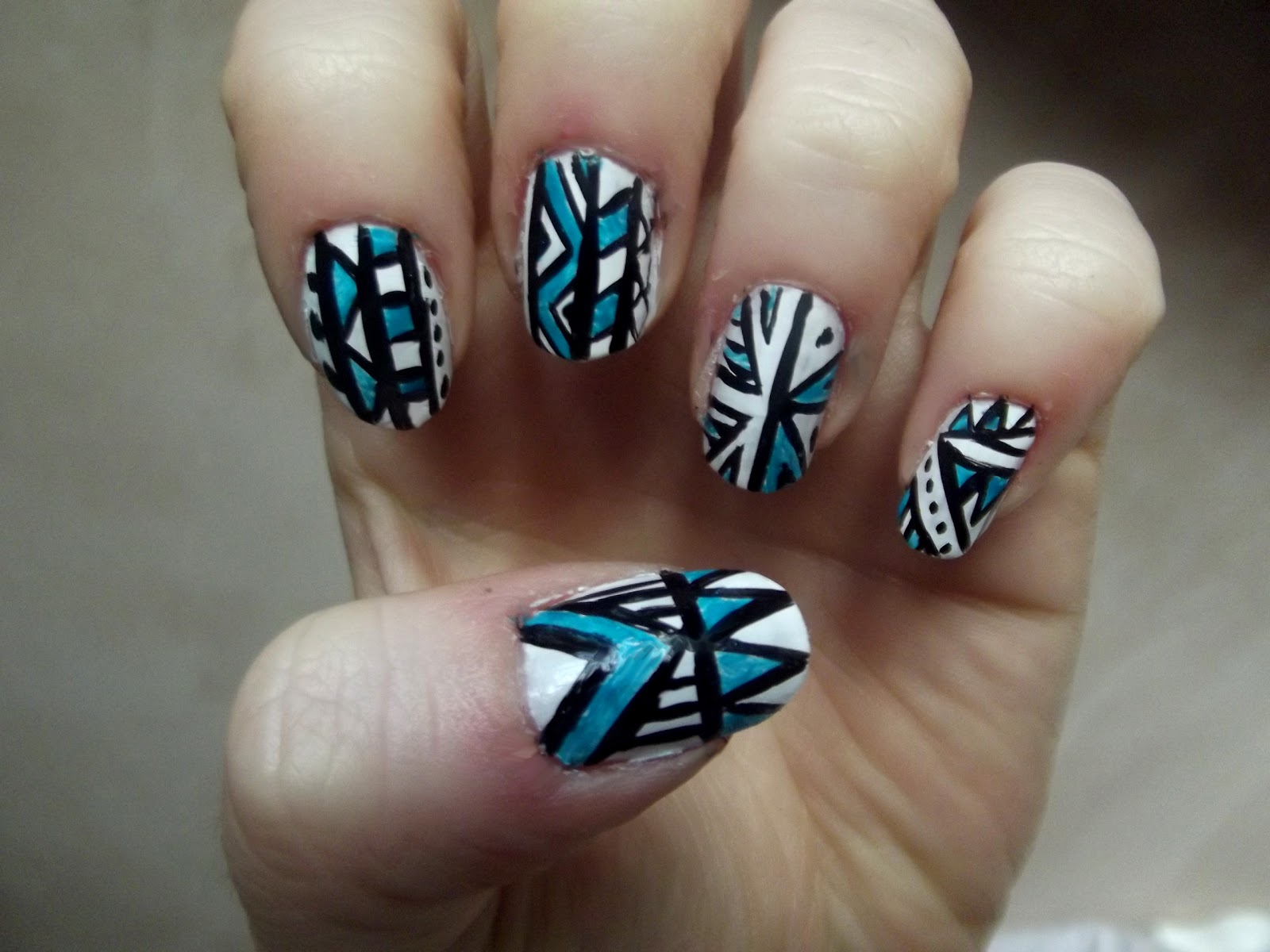 Aztec Nail Designs - Pccala