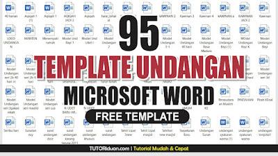 Free Template Undangan Word
