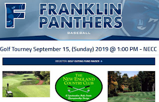 FHS Baseball Boosters - 2nd Annual Golf Tourney - Fund Raiser - Sep 15, 2019