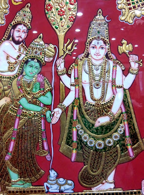 Marriage of lord Shiva with devi Parvati