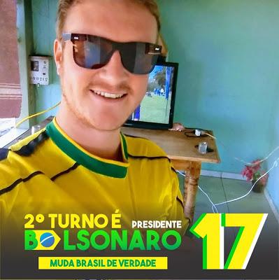 Nova Tebas: Vereador apoiava Bolsonaro por um Brasil melhor!