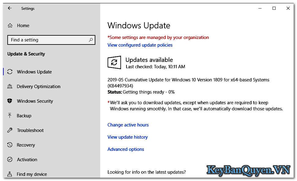 Hotfix KB4501371 và KB4503288 cho Windows 10 phiên bản 1809 và 1803 được phát hành