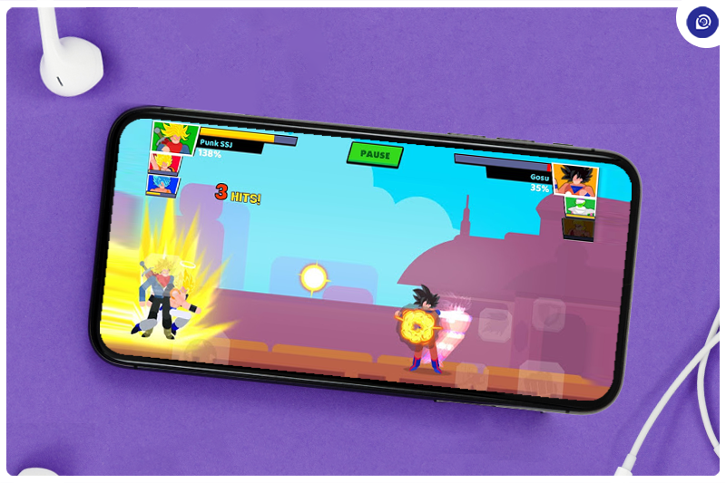 Relive Dragon Ball Z With Stick Warriors.