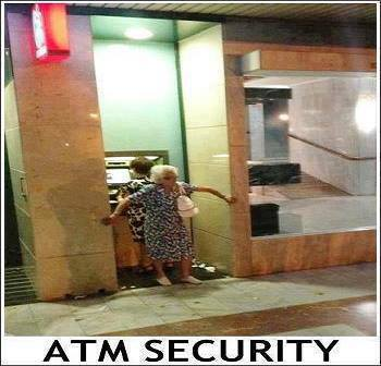 Funny atm security picture
