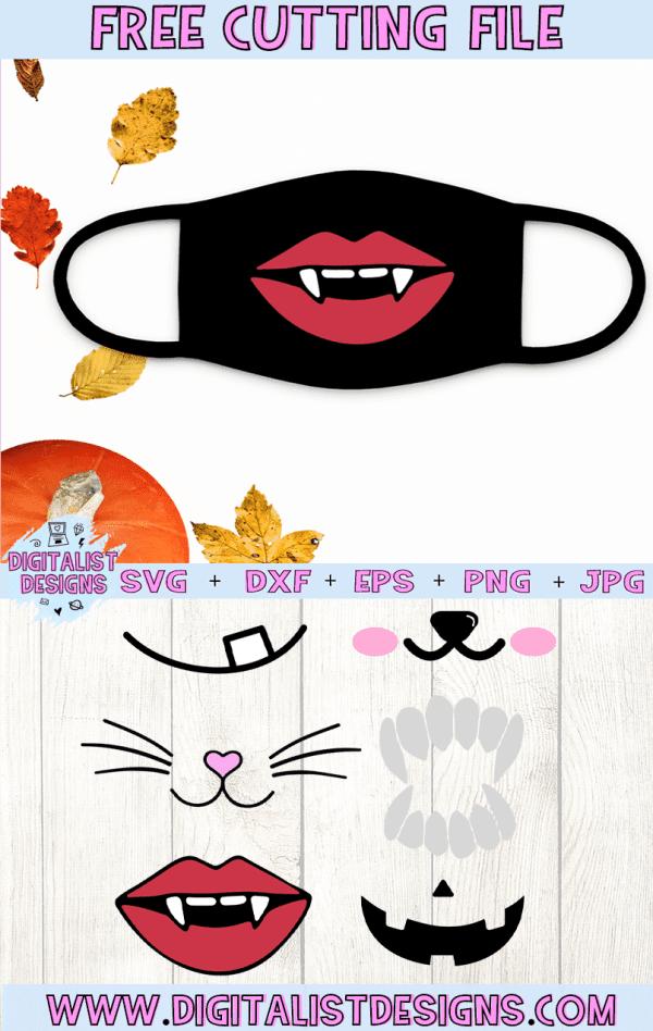 Free Face Mask Design Svgs