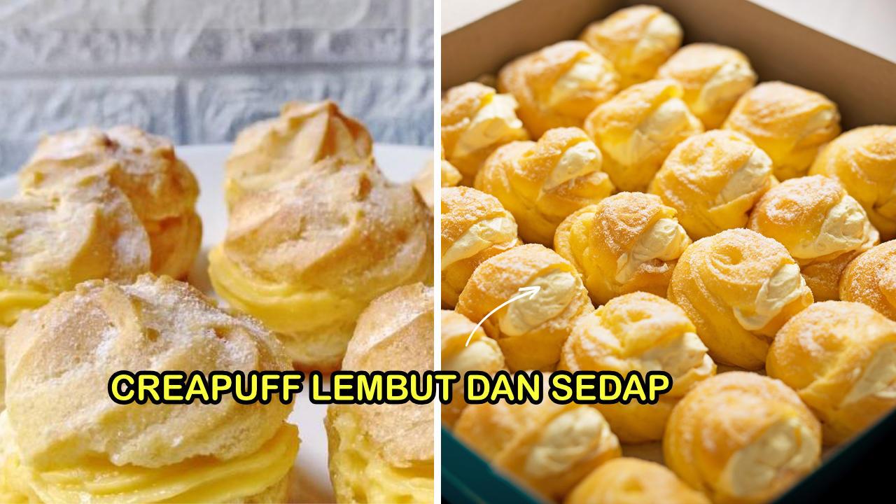resepi creampuff mudah dibuat