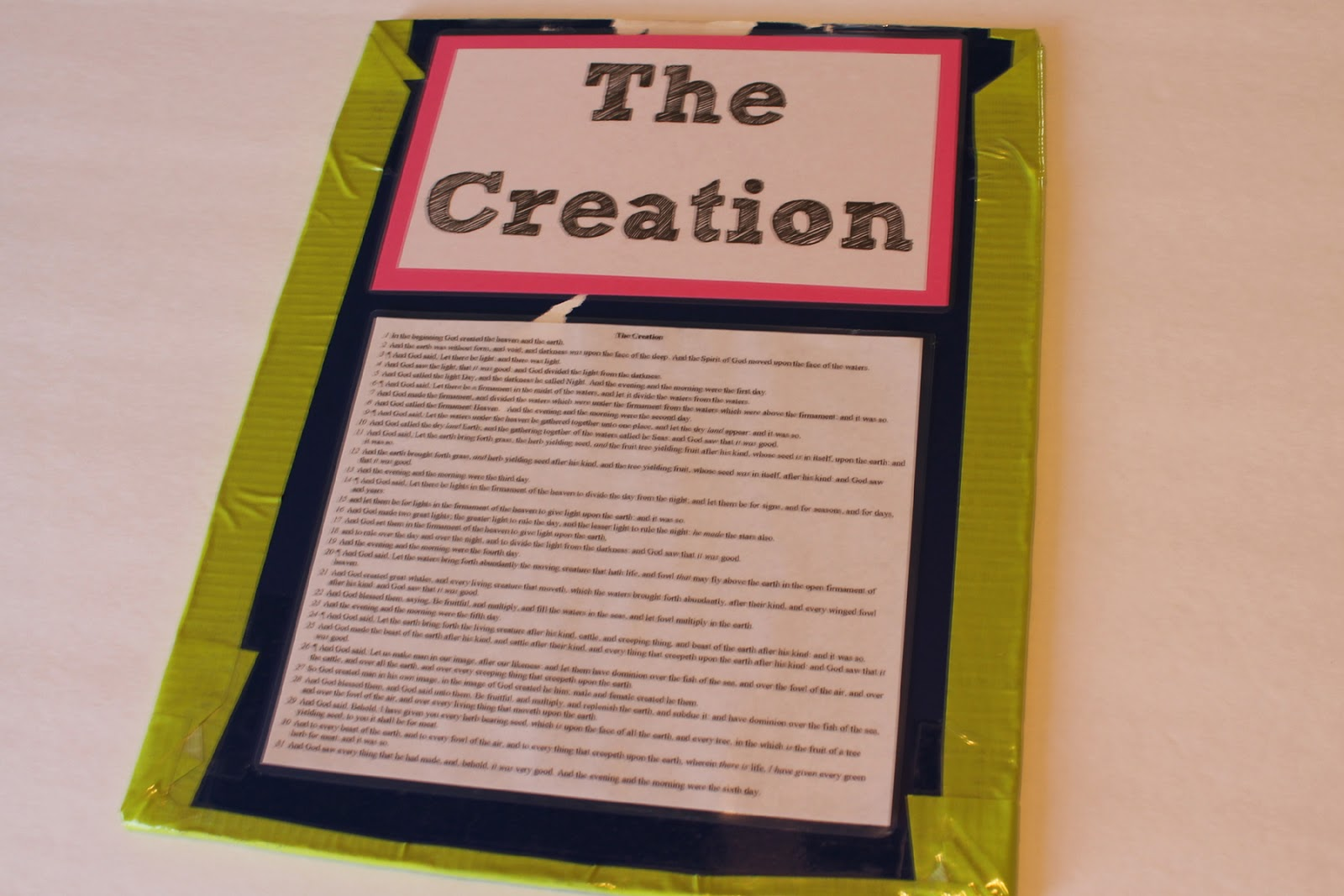 Doodlecraft: The Creation Lesson Bible Story Visual Aid