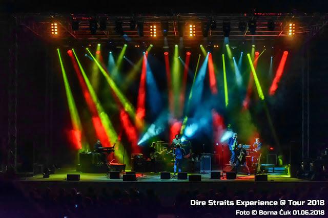 Koncert Dire Straits Experience Opatija Croatia 01.06.2018