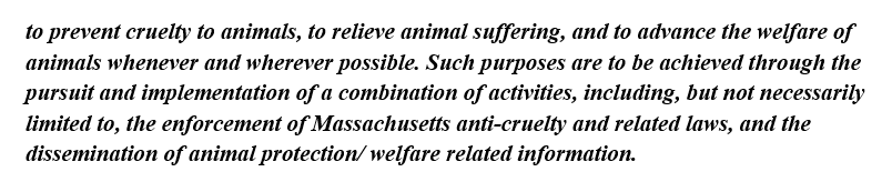 Enforcement of Anti-Cruelty laws