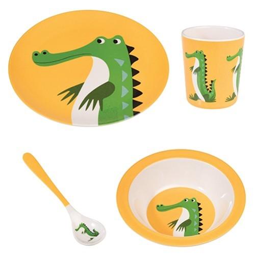 https://www.shabby-style.de/melamin-geschirrset-bunte-tierfreunde-krokodil