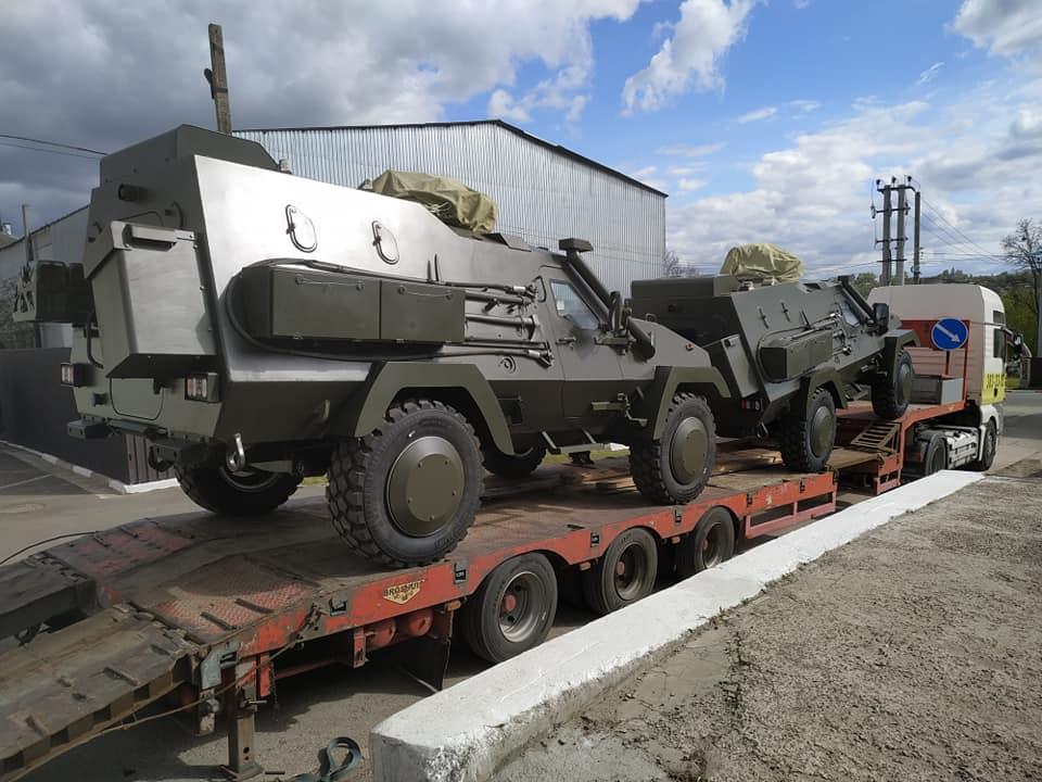 ЗСУ передано партію з дев'яти польських бронемашин