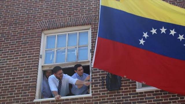 Embajador de Guaidó en EEUU toma embajada venezolana en Washington