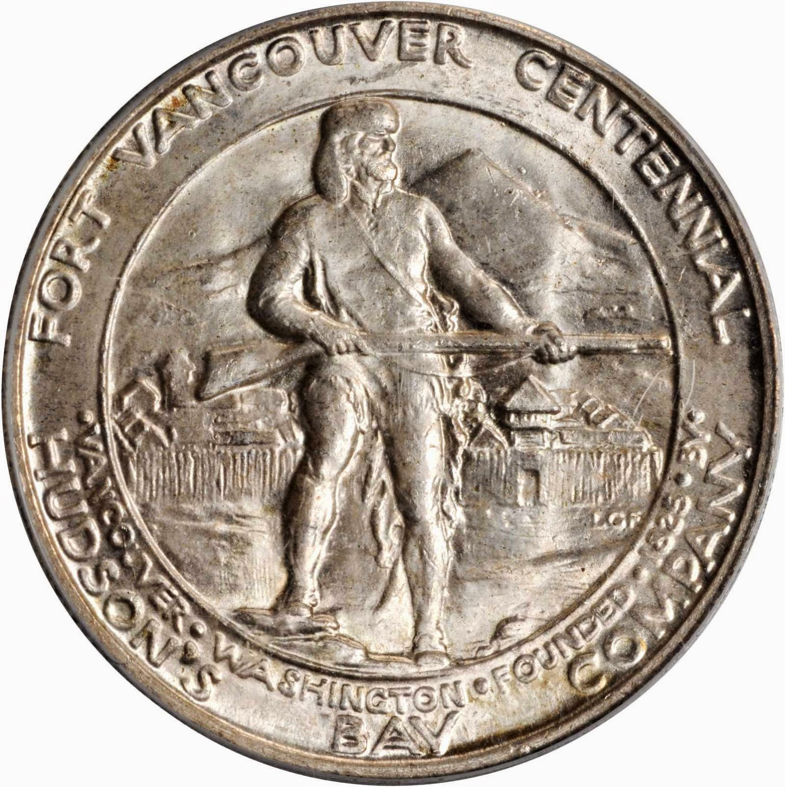 Fort Vancouver Half Dollar