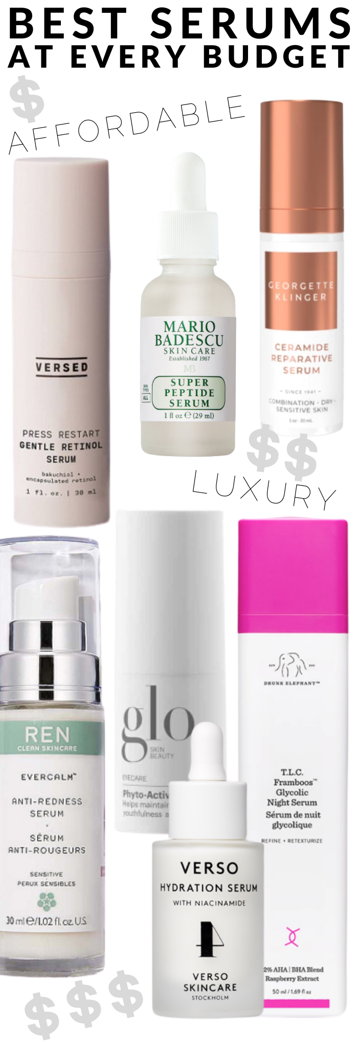 The best face serums for normal to combination skin at every budget