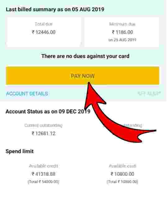 sbi credit card payment kaise kare, sbi credit card payment