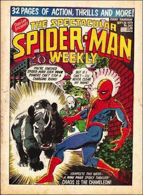 Spectacular Spider-Man Weekly #342, the Chameleon