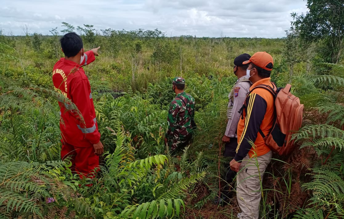Bersama Tim Terpadu, Polsek Kahayan Hilir Aktif Tinjau Kawasan Rawan Kahutla