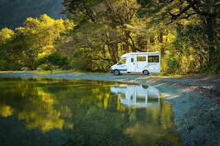 Maui, Cascade, Camper, Lake Gunn