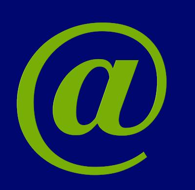 A imagem de fundo azul e caractere verde, mostra o caractere arroba @ símbolo da geração arroba fruto da tecnologia da informação ou era digital.