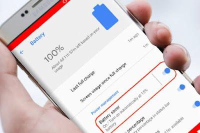 Cara Setting Baterai Saver Schedule Di Android 10