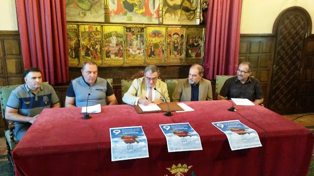 Promoció per les IX Conferències de @LleidaDrone, signatura de conveni oficial a l'Ajuntament i Fira