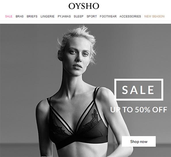 Oysho Sale