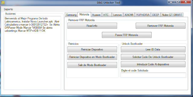 Samsung 2017 FRP Removing Tool (D&G) Unlocker Latest Version Free Download