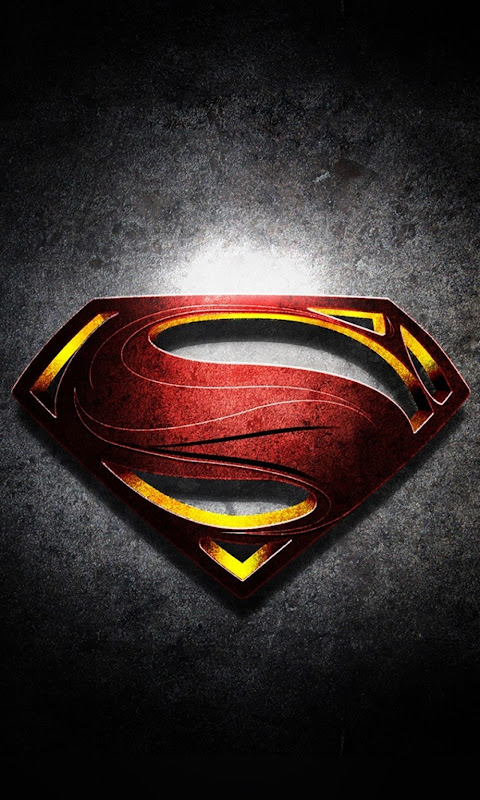 Android Best Wallpapers Superman Logo With Noise