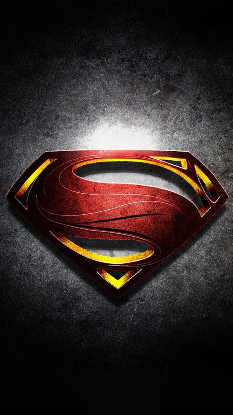 Android Best Wallpapers: Superman Logo with Noise ...