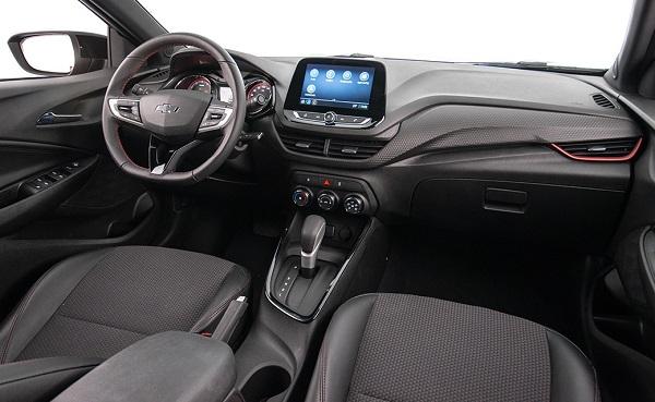 Interior Chevrolet Onix RS