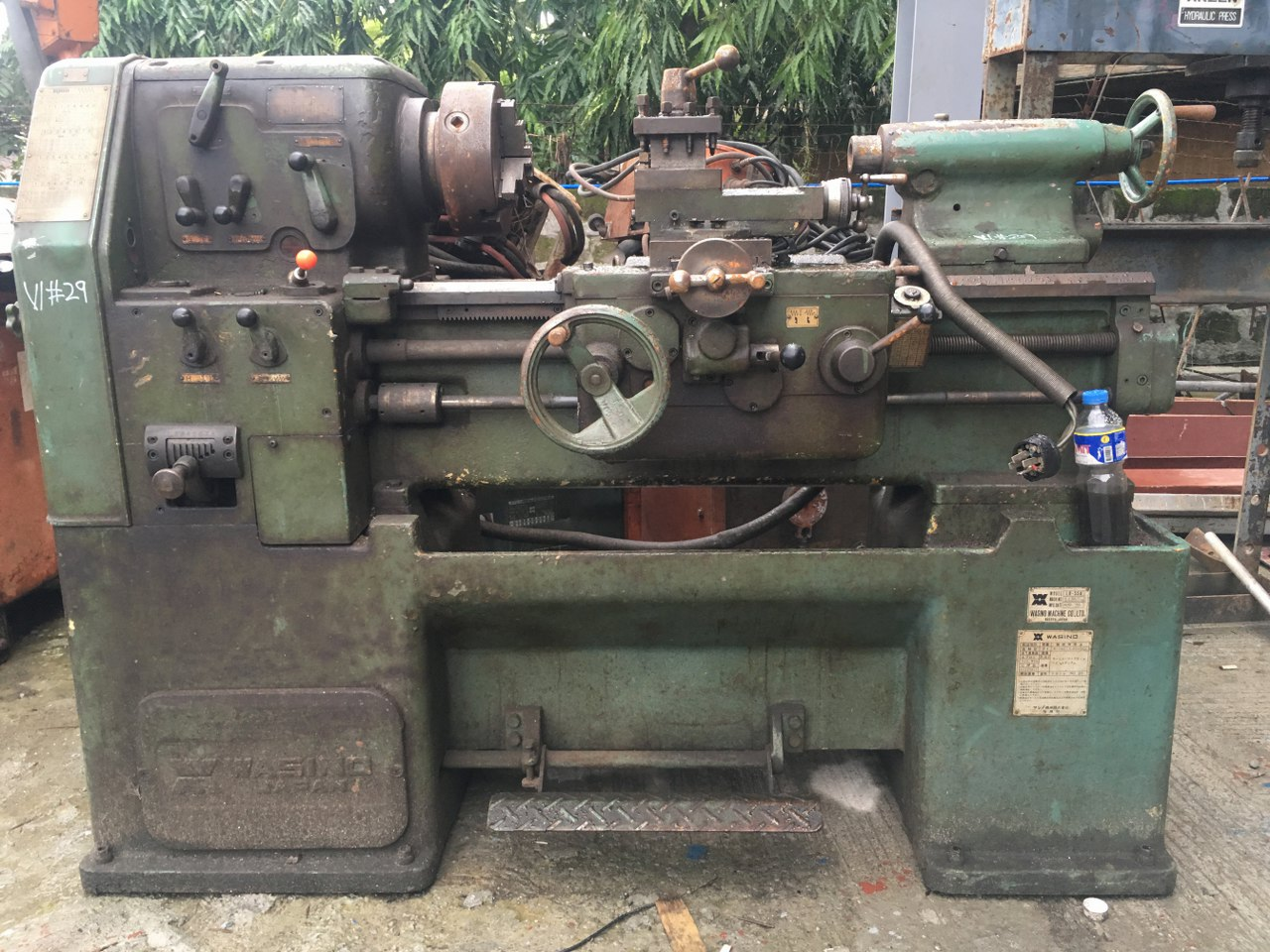 Wasino Lathe Machine 4 Feet