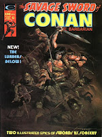 Savage Sword of Conan #6, The Lurkers Below