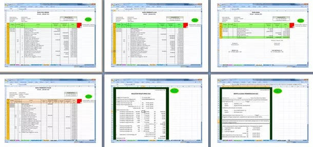 Contoh Berkas Pembukuan untuk LPJ BOS