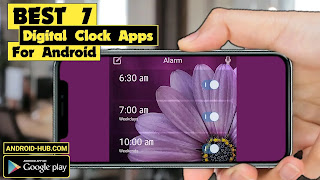 7 of the best digital clock apps for Android phones