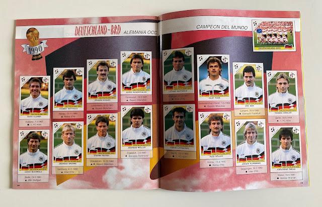 figurine Germania Ovest  Italia 90World Cup Story