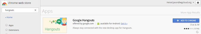 Google Hangout Extension