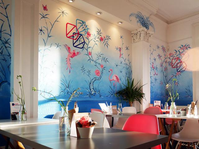 interior at cafe domenica brighton