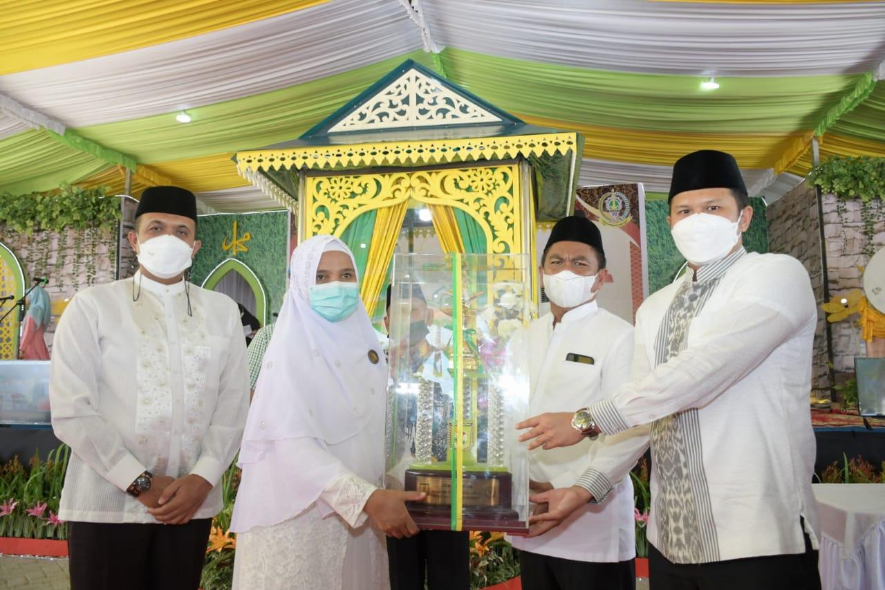 Bupati Sergai Membuka MTQH ke-XVII Tingkat Kabupaten Sergai