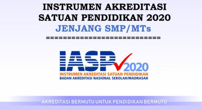 gambar Instrumen akreditasi SD SMP SMA SMK 2020