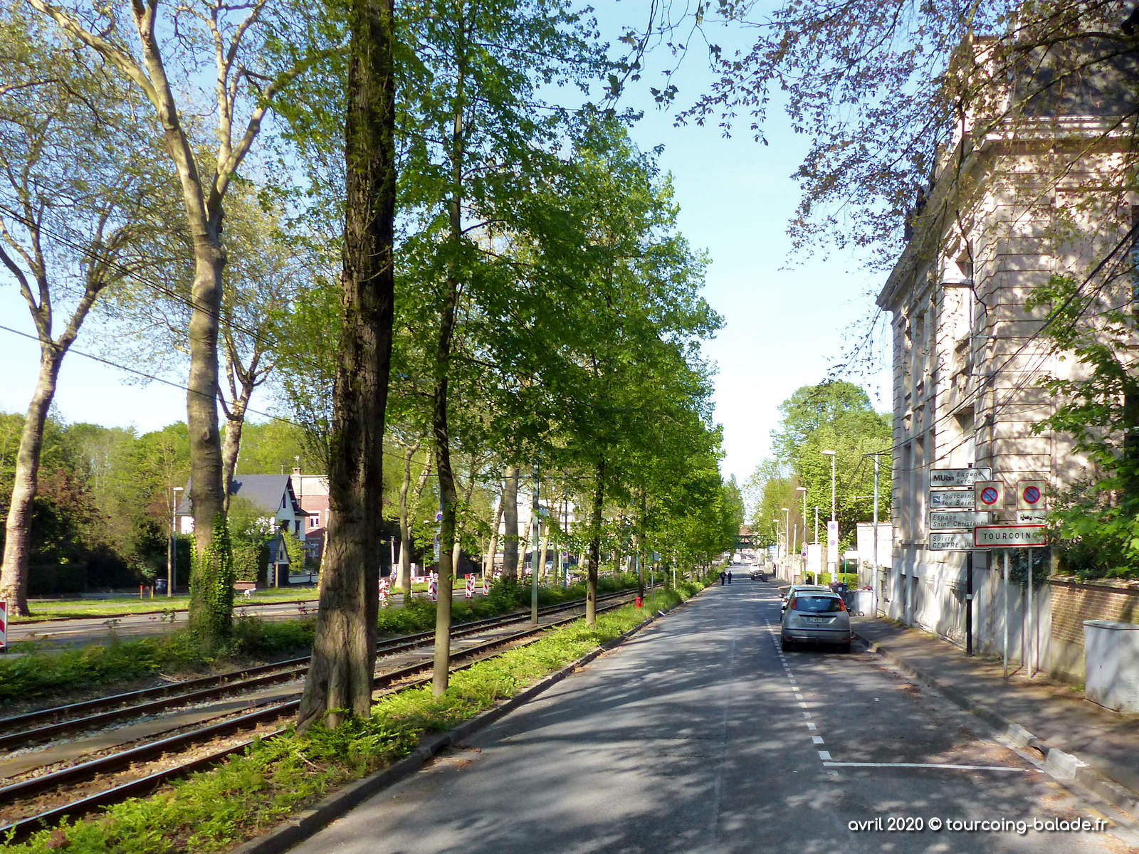 Avenue de la Marne, Tourcoing 2020