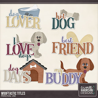 Wooftastic Word Art
