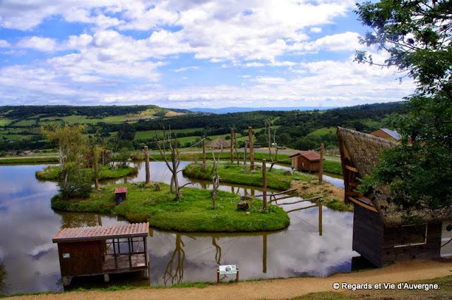 Parc animalier d'Auvergne, iles aux  singes